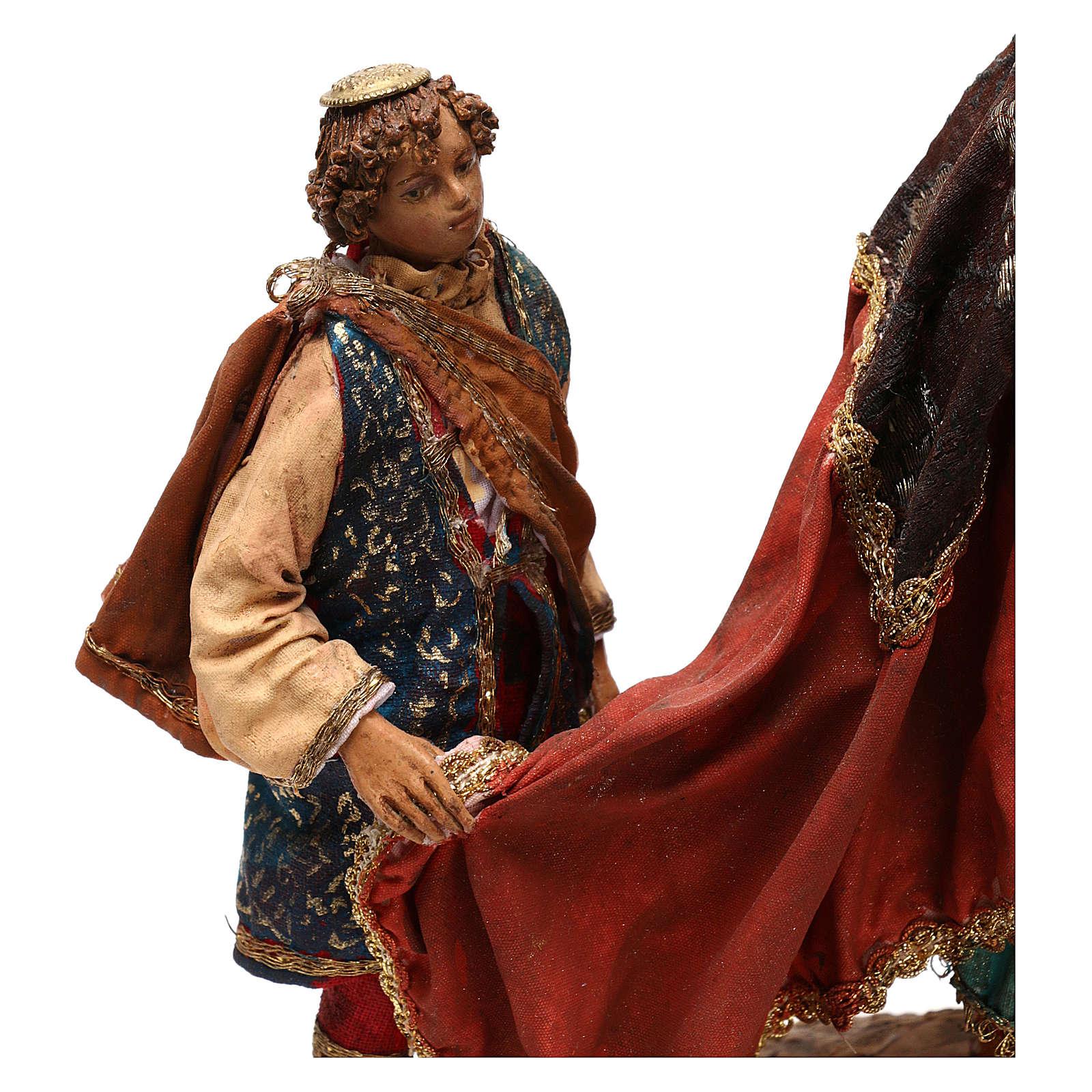 Rey Mago con paje 18 cm Angela Tripi 4