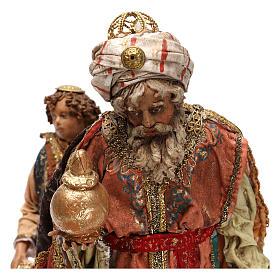 Rey Mago con paje 18 cm Angela Tripi s2