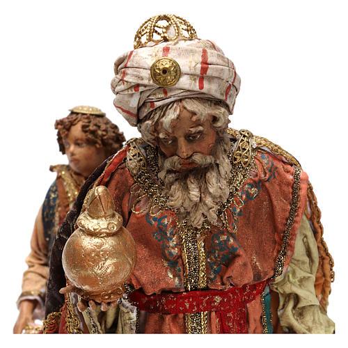 Rey Mago con paje 18 cm Angela Tripi 2