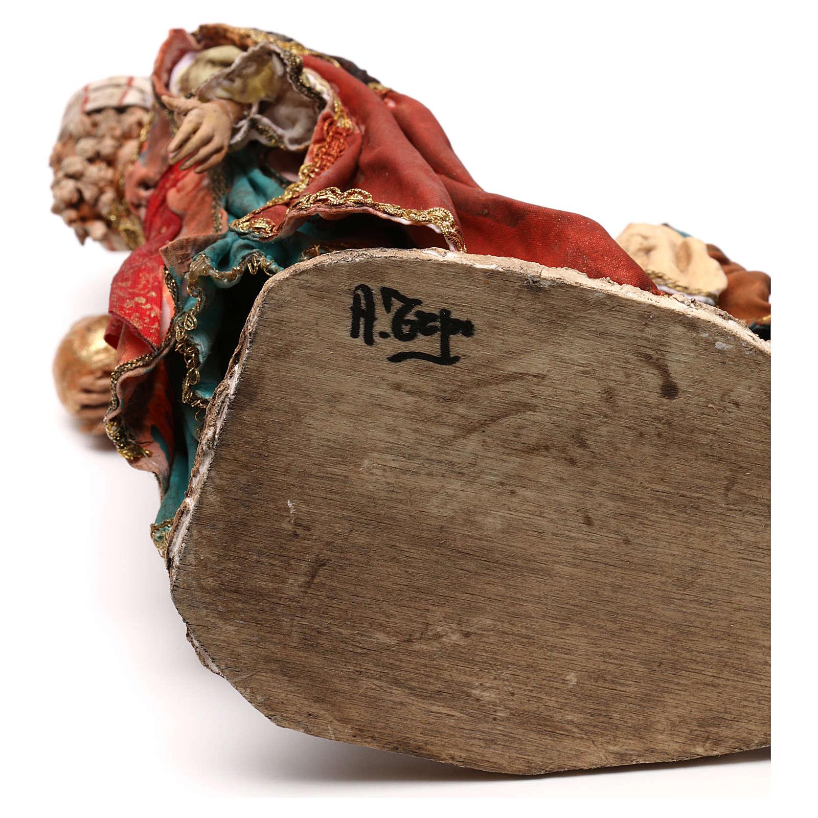 Re Magio con paggio 18 cm Angela Tripi 4