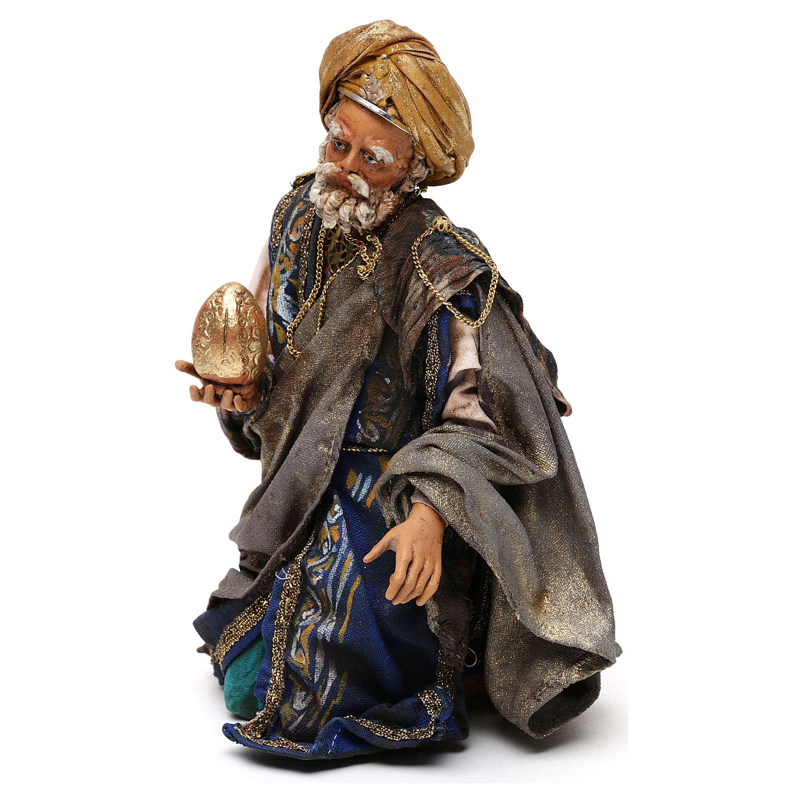 King for 18 cm Nativity scene, Angela Tripi 4