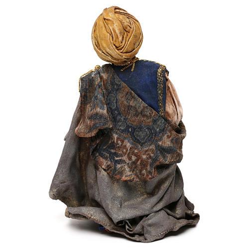 King for 18 cm Nativity scene, Angela Tripi 5