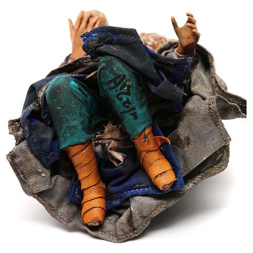 King for 18 cm Nativity scene, Angela Tripi 6
