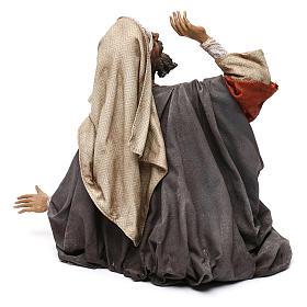 Pastore impaurito - annuncio ai pastori 30 cm Angela Tripi s5