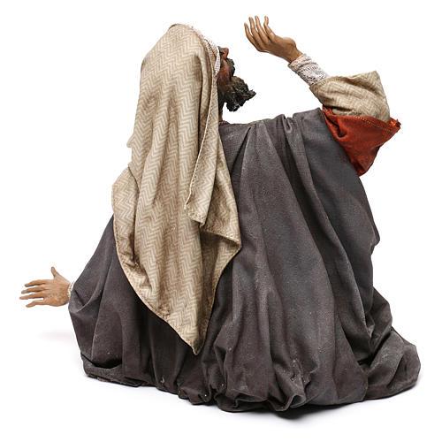 Pastore impaurito - annuncio ai pastori 30 cm Angela Tripi 5