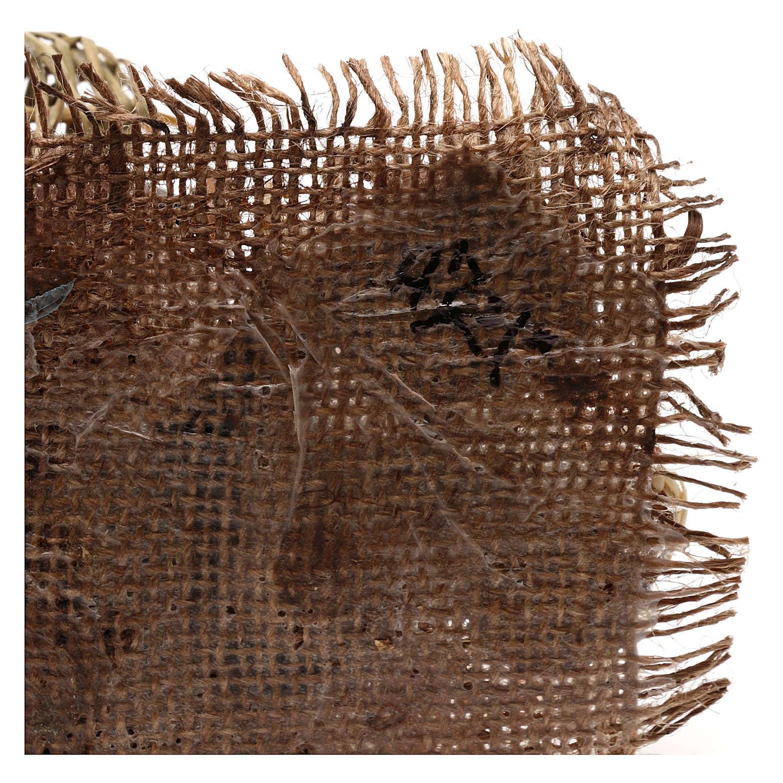 Cestaio per presepe 18 cm Angela Tripi 4
