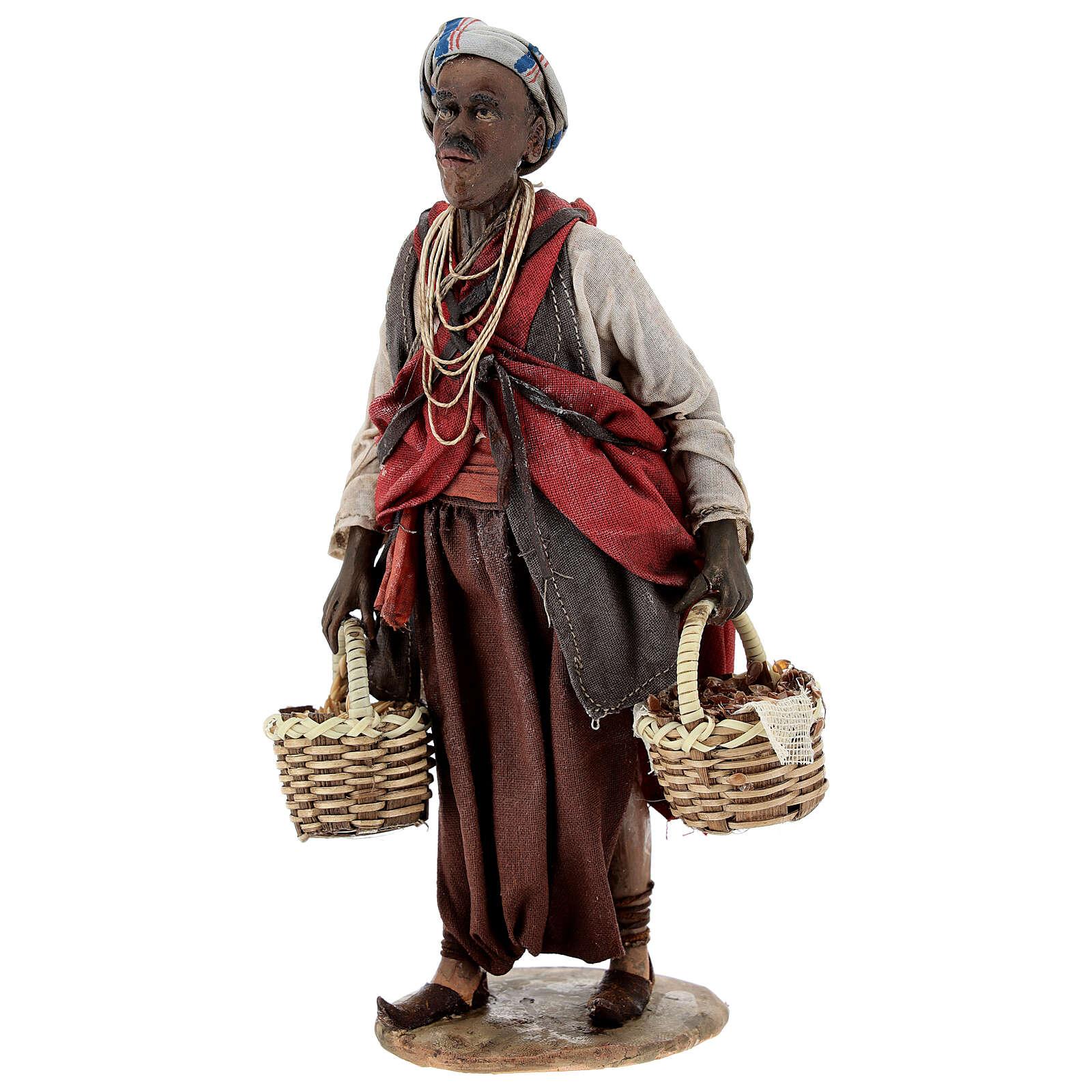 Esclave avec graines 18 cm atelier Angela Tripi 4