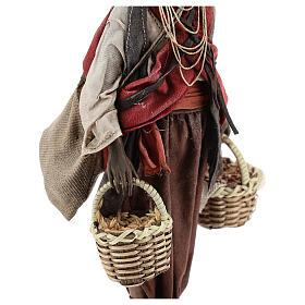 Esclave avec graines 18 cm atelier Angela Tripi s4