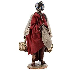 Esclave avec graines 18 cm atelier Angela Tripi s6