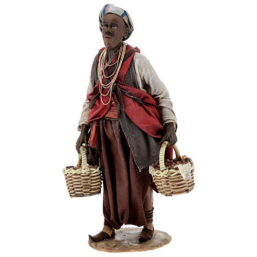 Esclave avec graines 18 cm atelier Angela Tripi 3