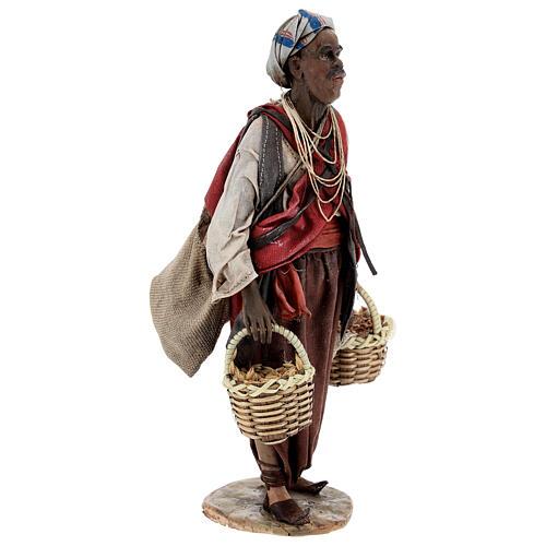 Esclave avec graines 18 cm atelier Angela Tripi 5