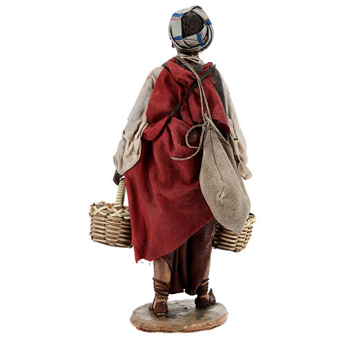 Esclave avec graines 18 cm atelier Angela Tripi 6