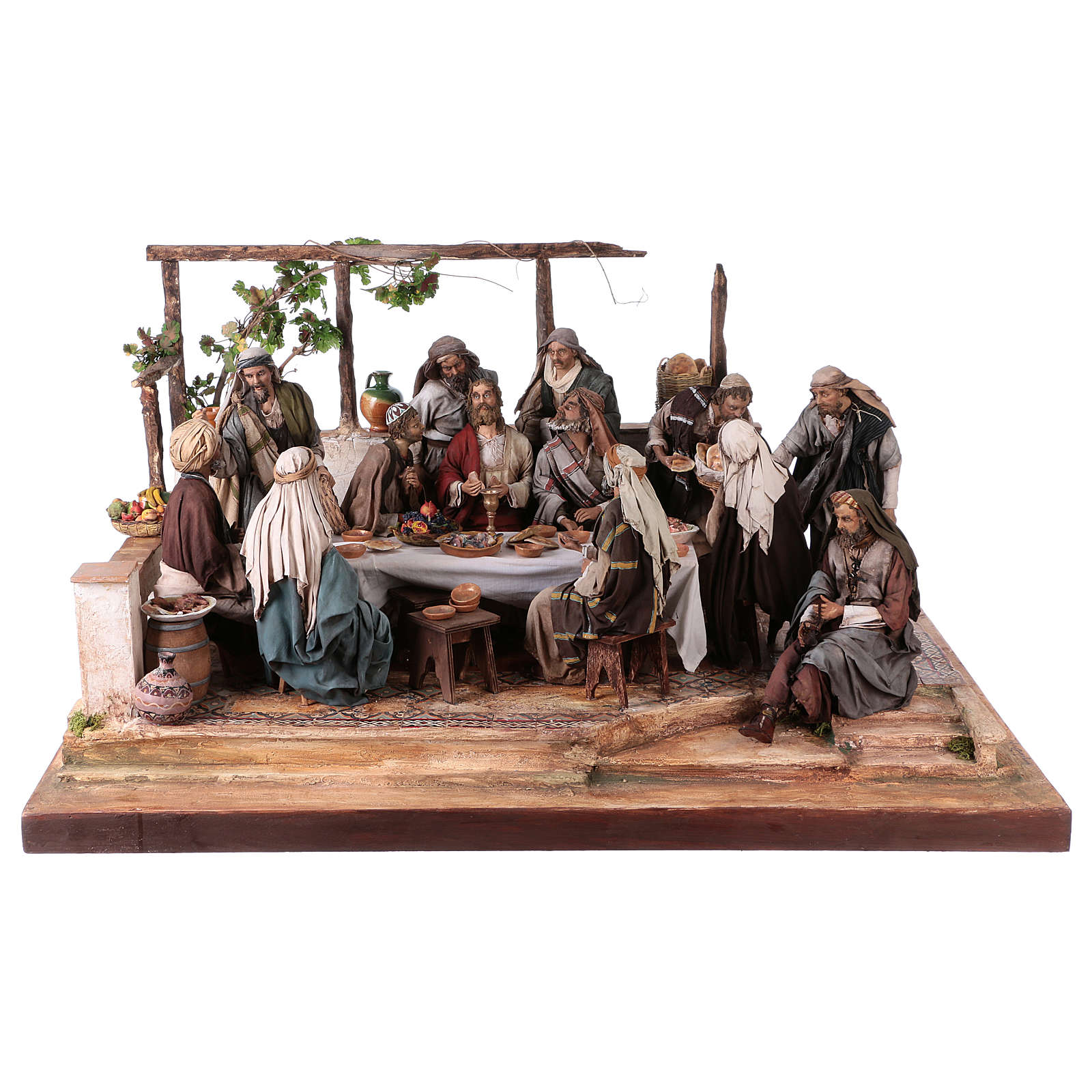 Last Supper 30 cm Angela Tripi terracotta 4