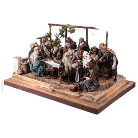 Last Supper 30 cm Angela Tripi terracotta s3