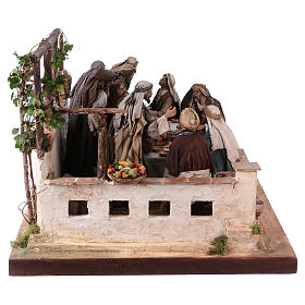 Last Supper 30 cm Angela Tripi terracotta s7