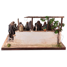 Last Supper 30 cm Angela Tripi terracotta s13
