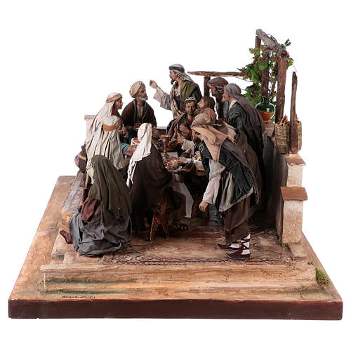 Last Supper 30 cm Angela Tripi terracotta 9