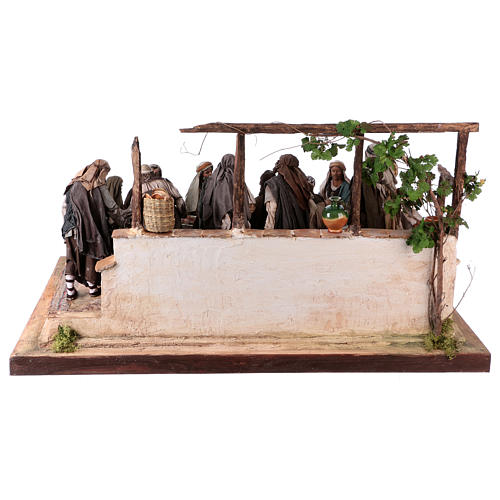 Last Supper 30 cm Angela Tripi terracotta 13