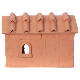 Terracotta baker for Nativity scene 10 cm made in Deruta s4