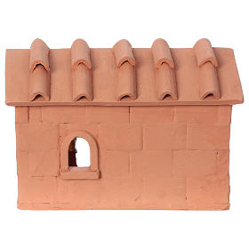 Baker in terracotta, 10 cm nativity Deruta s4