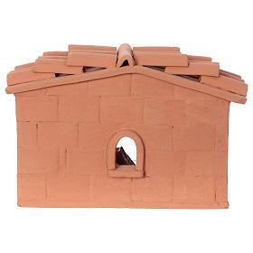 Terracotta cooper for Nativity scene 10 cm made in Deruta s4