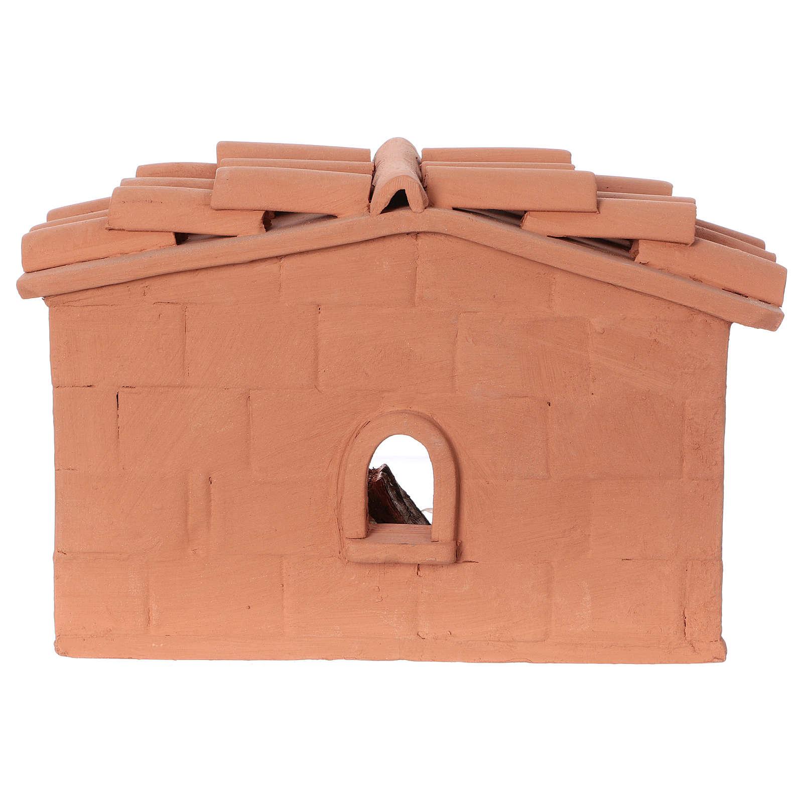 Tonelero terracota belén 10 cm Deruta 4