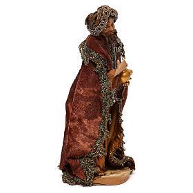 Nativity scene standing King 18 cm by Angela Tripi s4