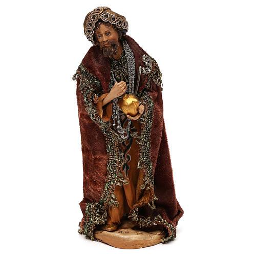Nativity scene standing King 18 cm by Angela Tripi 1