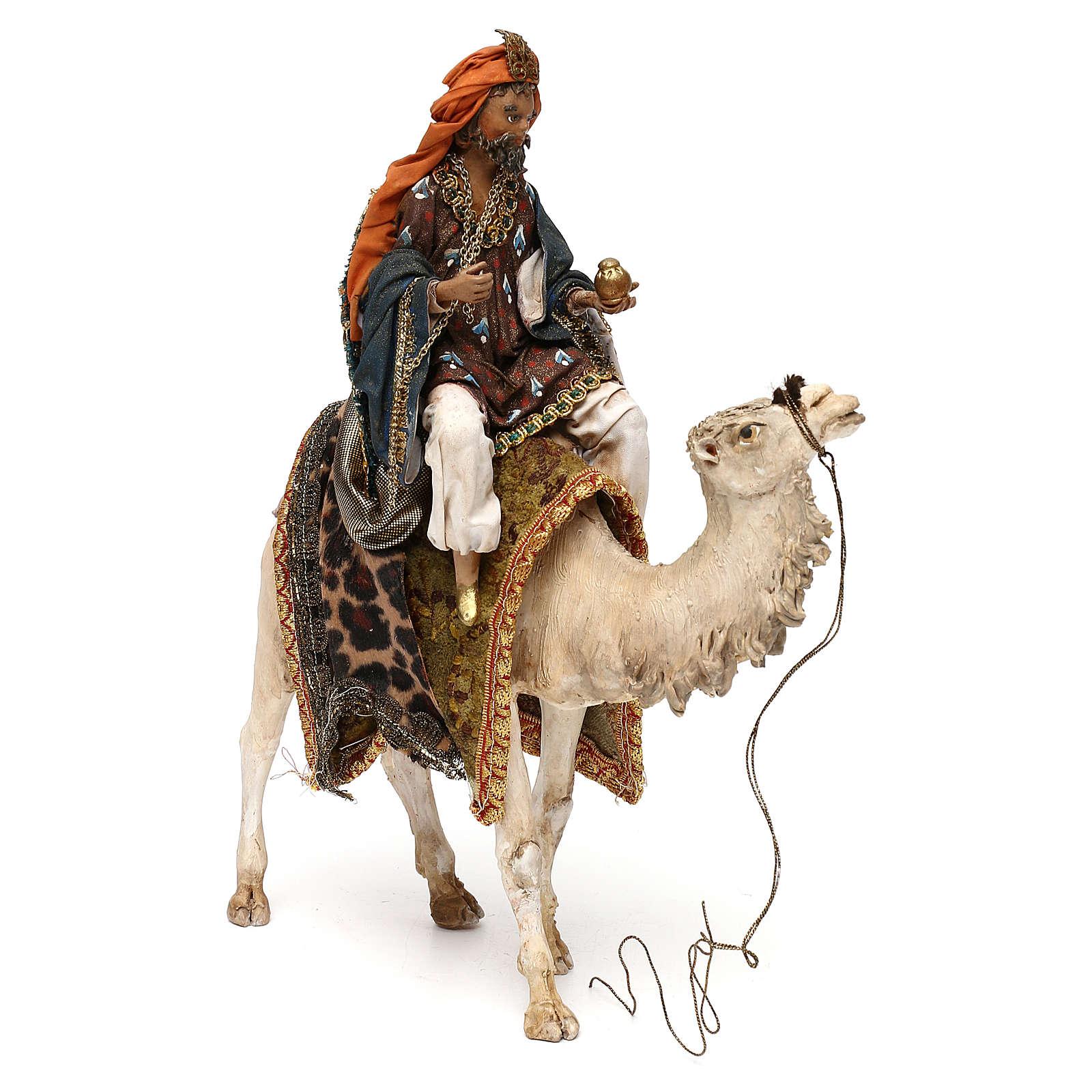Roi Mage sur chameau crèche 13 cm Tripi 4