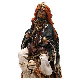 Roi Mage sur chameau crèche 13 cm Tripi s2