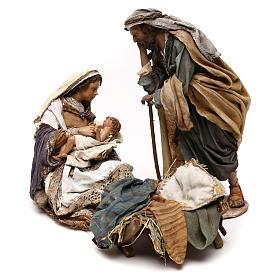 Natividad Angela Tripi: María que abraza al Niño 30 cm s1