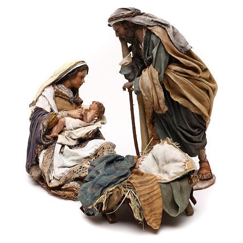 Natividad Angela Tripi: María que abraza al Niño 30 cm 1