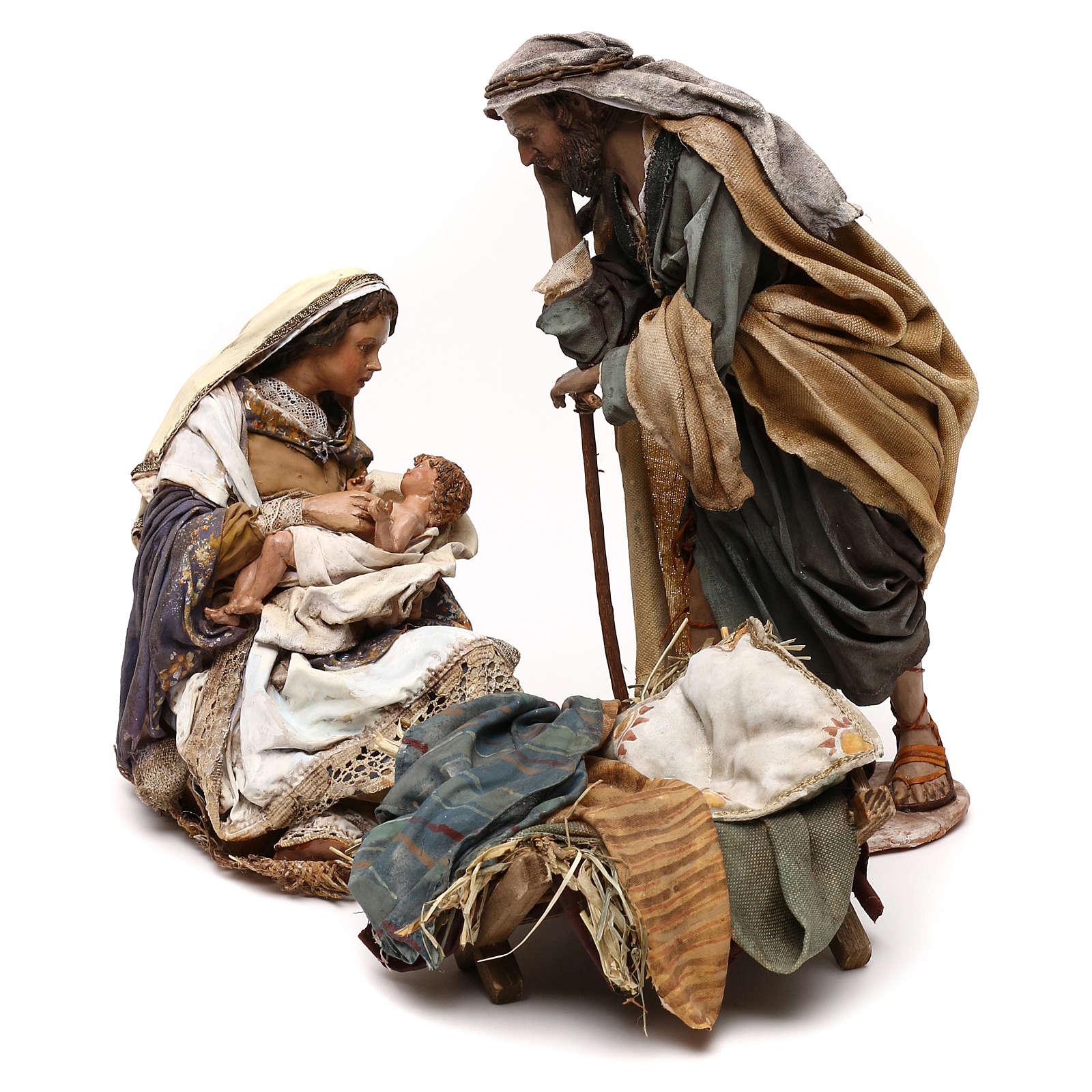 Natività Angela Tripi: Maria che abbraccia il Bambino 30 cm 4
