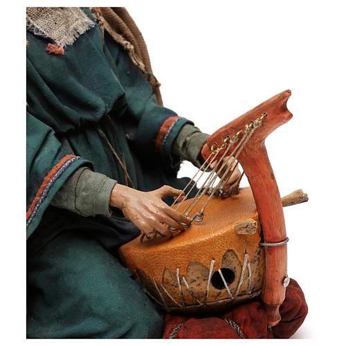 Scena Natività con 4 suonatori 30 cm Angela Tripi 9