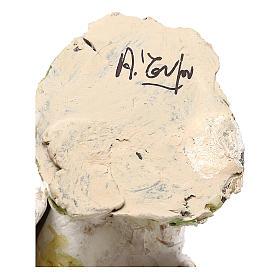 Pavone albino 18 cm Angela Tripi  s6
