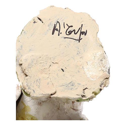 Pavone albino 18 cm Angela Tripi  6