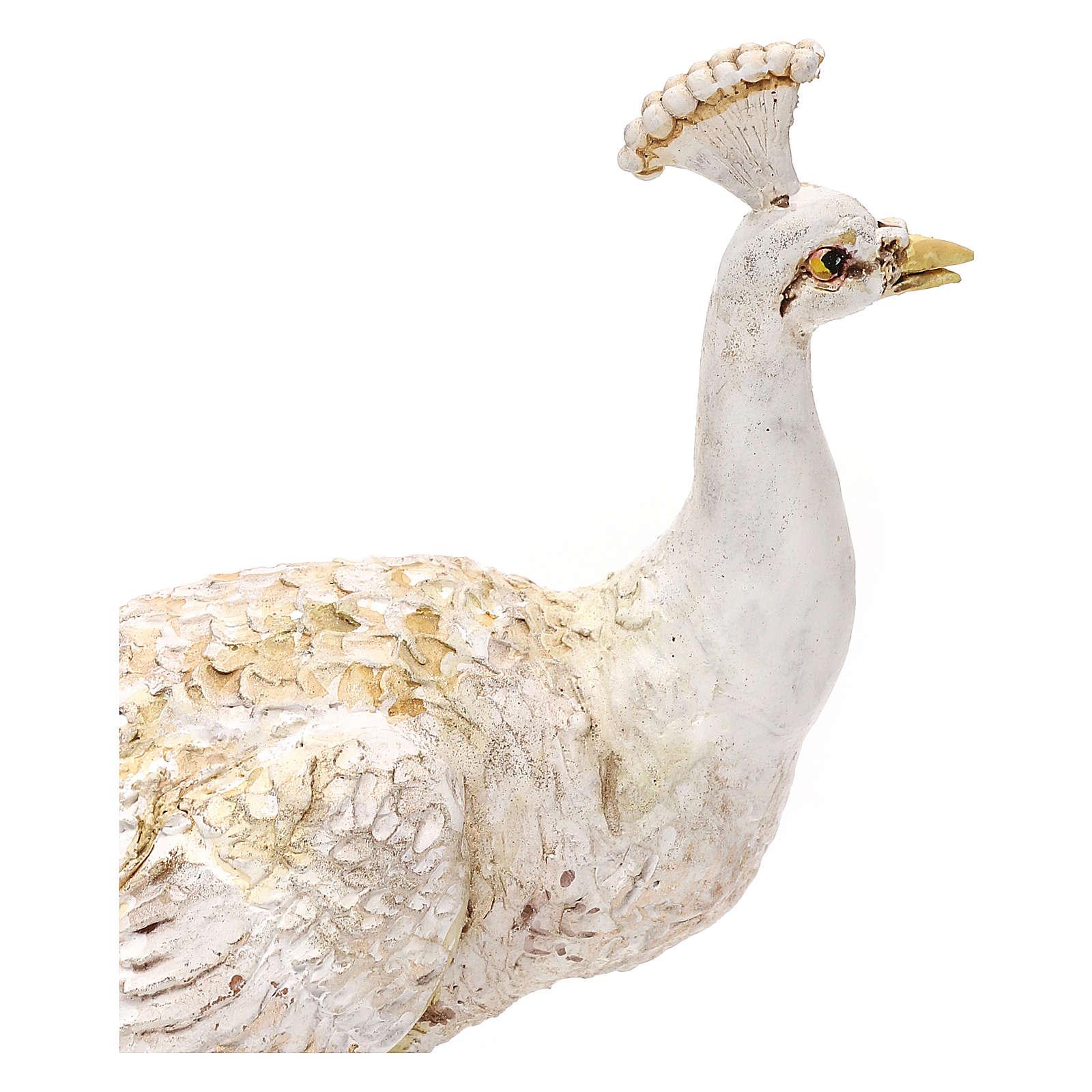 Albino peacock, 18 cm Angela Tripi 4