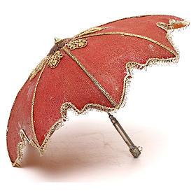 Slave with umbrella, 30 cm Angela Tripi Nativity Scene s5