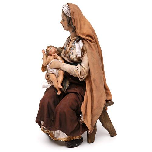 María con Niño Jesús 30 cm Tripi 3