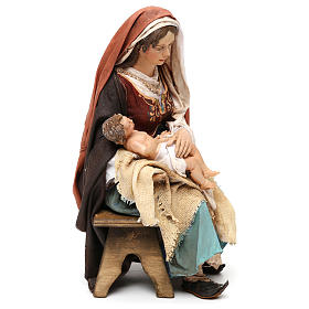 Nativity scene Mary with Baby Jesus, 30 cm by Angela Tripi s4