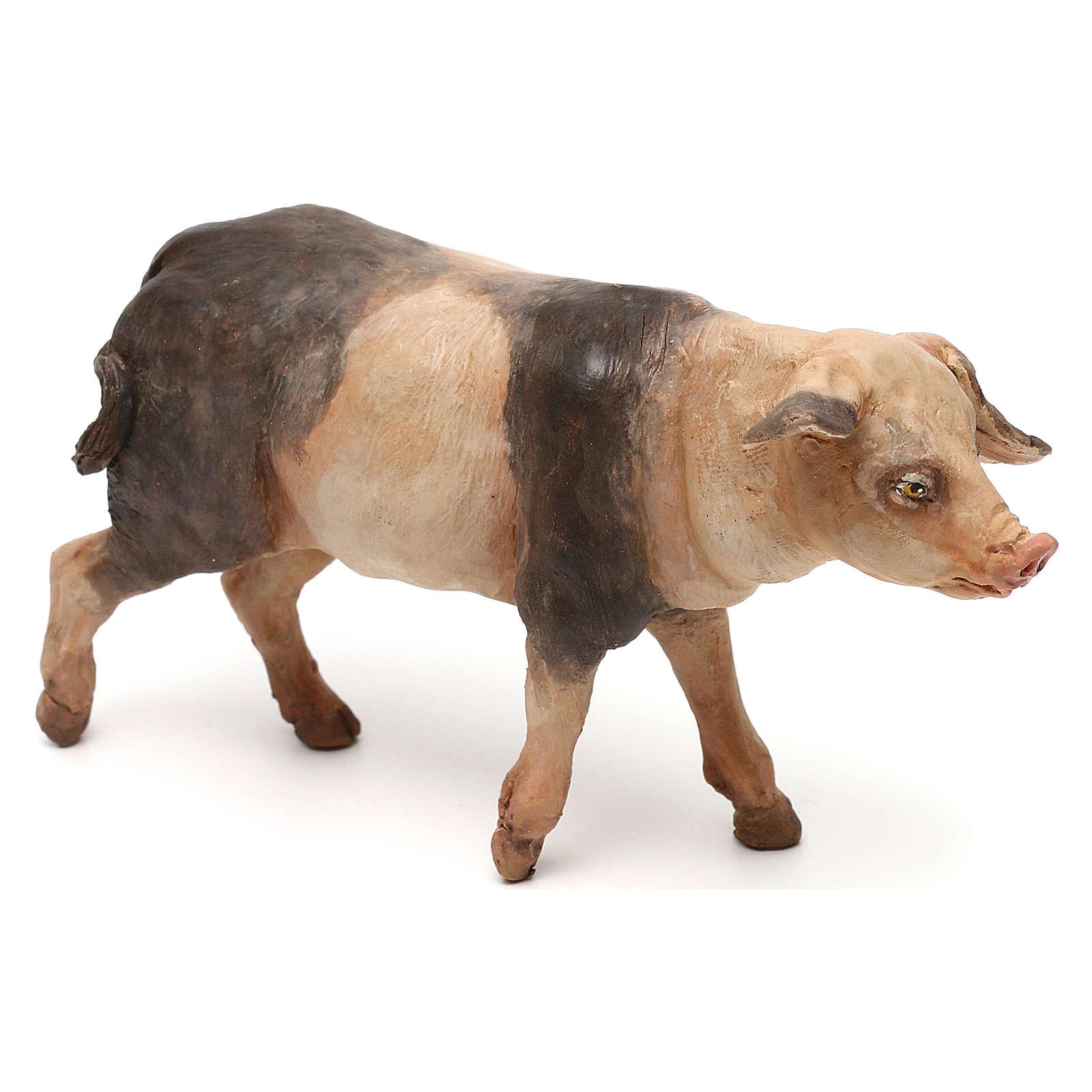 Cerdo 18 cm belén Tripi 4