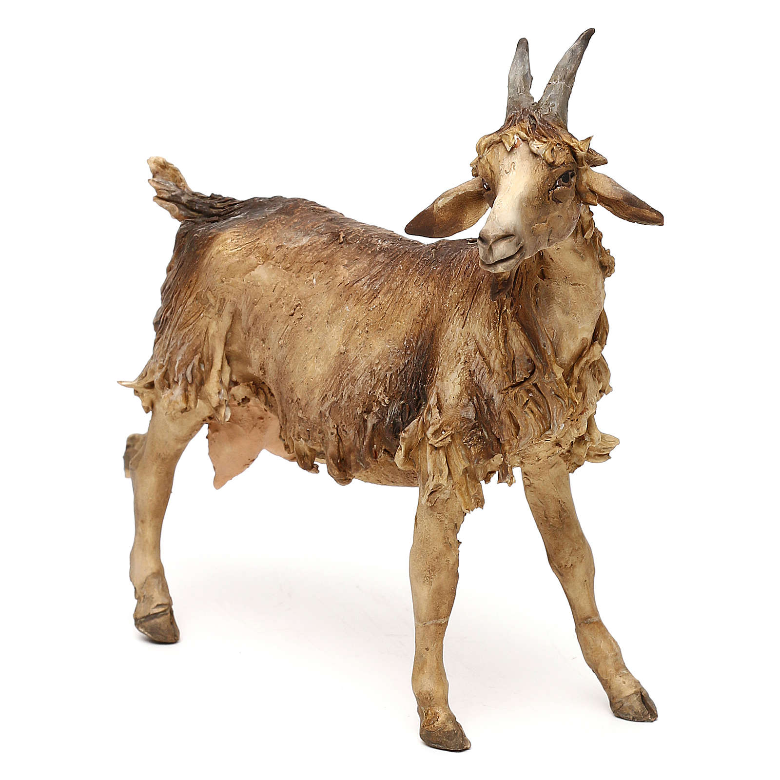 Goat, for 30 cm Nativity Angela Tripi 4