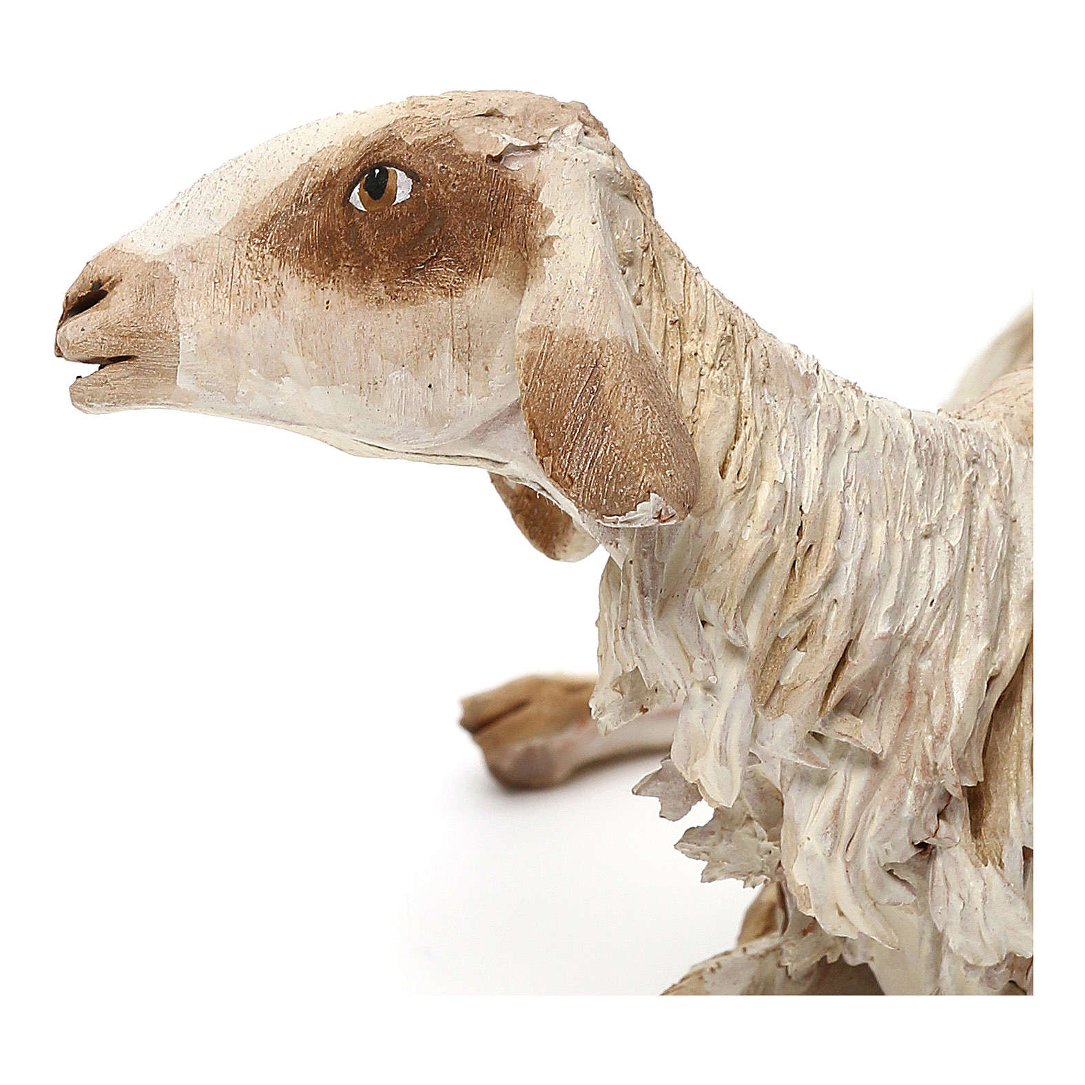Mouton allongé pour crèche de 30 cm Angela Tripi 4