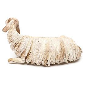 Mouton allongé pour crèche de 30 cm Angela Tripi s3