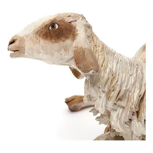 Mouton allongé pour crèche de 30 cm Angela Tripi 2