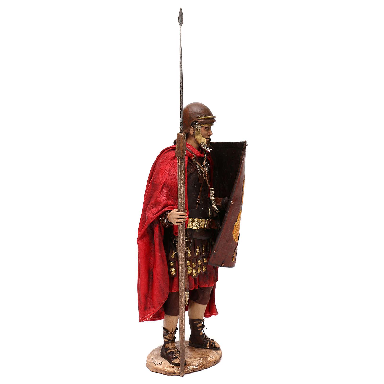 Nativity scene Roman soldier, 30 cm by Angela Tripi 4