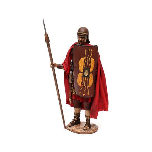 Nativity scene Roman soldier, 30 cm by Angela Tripi 3