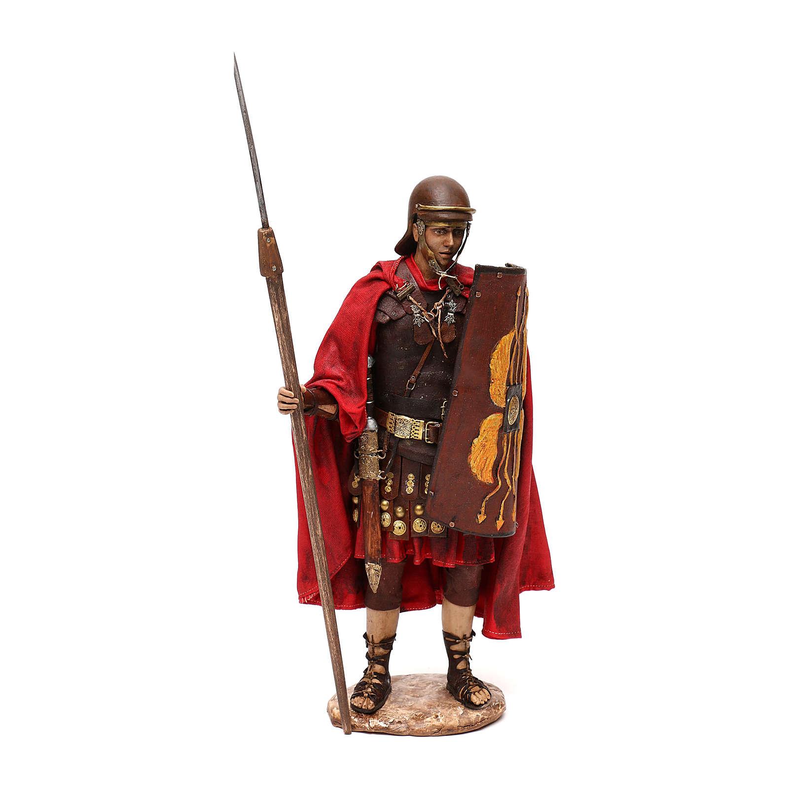 Soldato Romano presepe 30 cm atelier Tripi 4