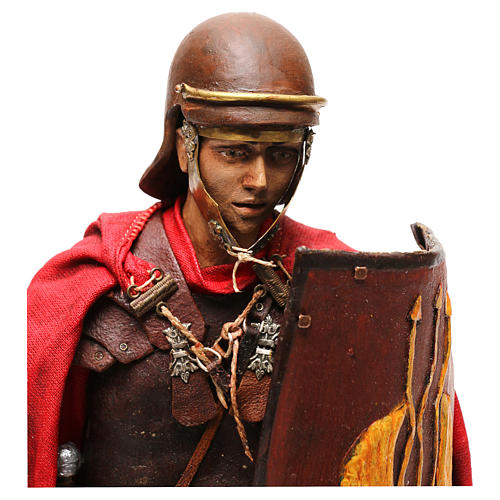 Soldato Romano presepe 30 cm atelier Tripi 2