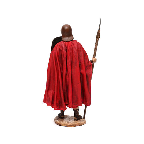 Soldato Romano presepe 30 cm atelier Tripi 5